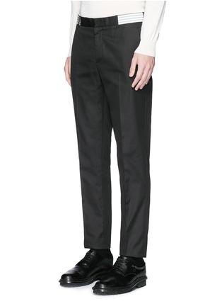 正面 -点击放大 - Alexander McQueen - 条带装饰长裤