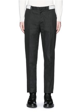 首图 - 点击放大 - Alexander McQueen - 条带装饰长裤