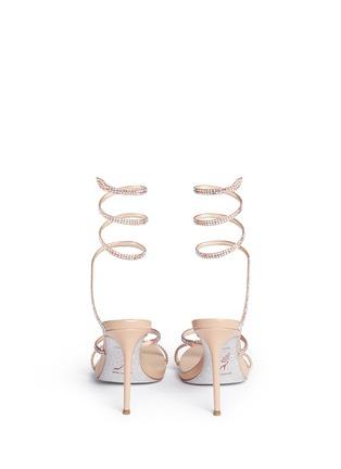 背面 - 点击放大 - RENÉ CAOVILLA - 仿水晶细高跟凉鞋