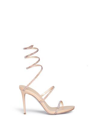 首图 - 点击放大 - RENÉ CAOVILLA - 仿水晶细高跟凉鞋