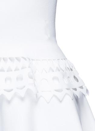 细节 - 点击放大 - ALAÏA - Vienne镂空几何图案背心上衣