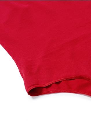 细节 - 点击放大 - ALAÏA - 吊带连体式紧身衣