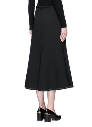 背面 - 点击放大 - ELLERY - BEEDEE单色绉绸半身裙