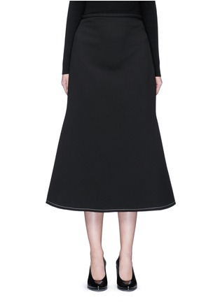 首图 - 点击放大 - ELLERY - BEEDEE单色绉绸半身裙