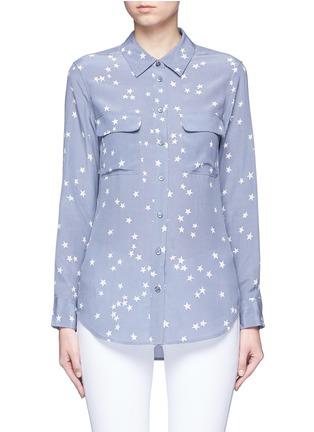 首图 - 点击放大 - EQUIPMENT - SLIM SIGNATURE星形印花真丝衬衫