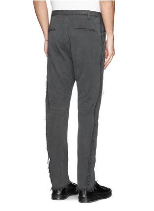 背面 - 点击放大 - 1.61 - 水洗纯棉长裤