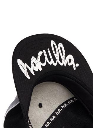 细节 - 点击放大 - HACULLA - 字母刺绣鸭舌帽