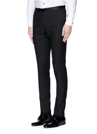 正面 -点击放大 - LANVIN - 单色羊毛西服长裤