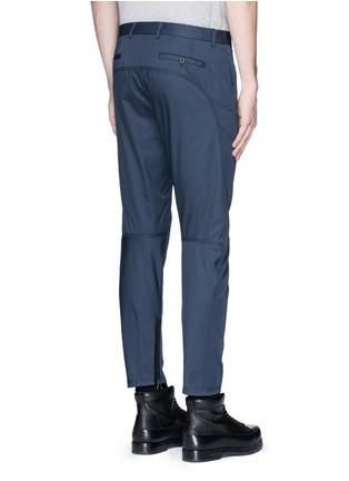 背面 - 点击放大 - LANVIN - 车缝线点缀纯棉长裤