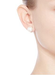 KENNETH JAY LANE 玻璃珍珠耳环