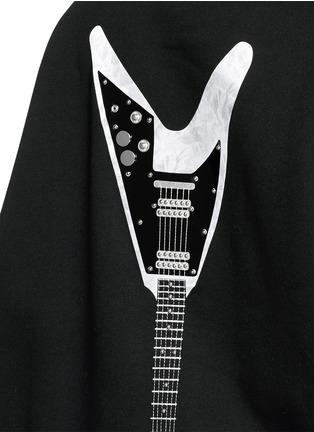 细节 - 点击放大 - ACNE STUDIOS - 电吉他装饰混棉上衣