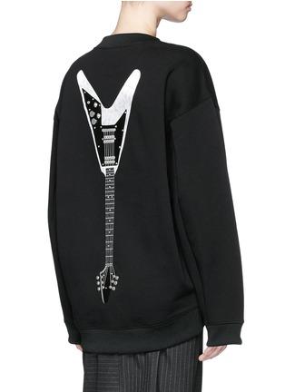 背面 - 点击放大 - ACNE STUDIOS - 电吉他装饰混棉上衣