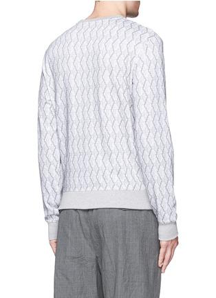 背面 - 点击放大 - CARVEN - 刺绣图案数码印花纯棉卫衣