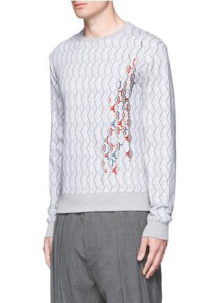 正面 - 点击放大 - CARVEN - 刺绣图案数码印花纯棉卫衣
