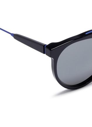 细节 - 点击放大 - SUPER - Giaguaro B2B金属拼接太阳眼镜