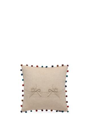 模特示范图 - 点击放大 - VIVARAISE - Gastounet纯棉抱枕套