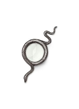 首图 –点击放大 - L'OBJET - 镀铂金蛇形放大镜
