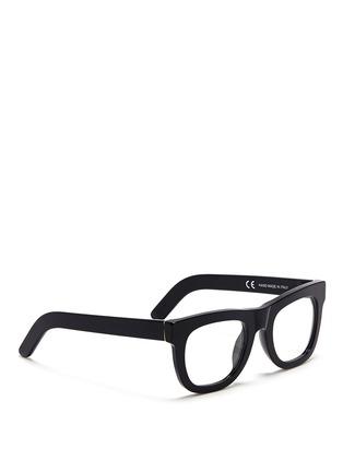 模特儿示范图 - 点击放大 - SUPER - 复古方框眼镜
