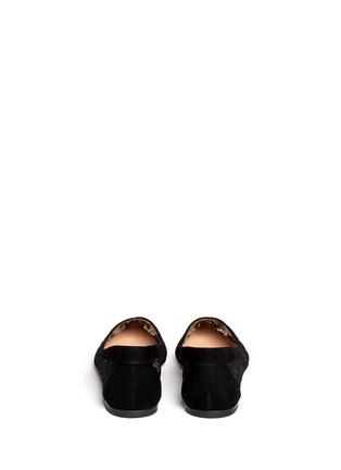 背面 - 点击放大 - GIANVITO ROSSI - 蕾丝花边平底鞋