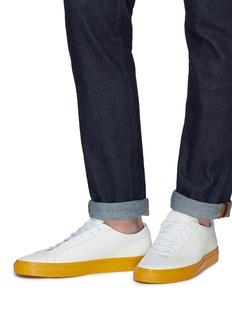 COMMON PROJECTS Original Achilles拼色设计真皮运动鞋