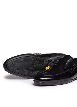 细节 - 点击放大 - HARRYS OF LONDON - DOWNING 2搭带真皮平底鞋