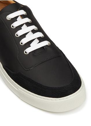 细节 - 点击放大 - HARRYS OF LONDON - MR JONES 2真皮系带运动鞋
