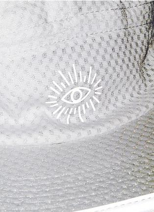 细节 - 点击放大 - ICNY - 反光镶边半透网眼棒球帽