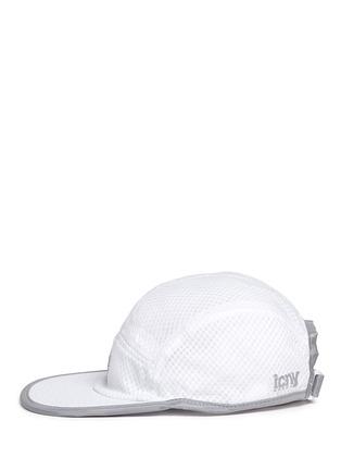 模特示范图 - 点击放大 - ICNY - 反光镶边半透网眼棒球帽