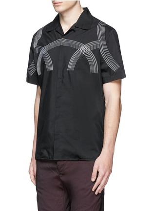 正面 -点击放大 - LANVIN - 车缝线缀饰纯棉衬衫