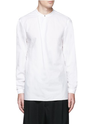 首图 - 点击放大 - ACNE STUDIOS - 中式衣领棉混丝衬衫