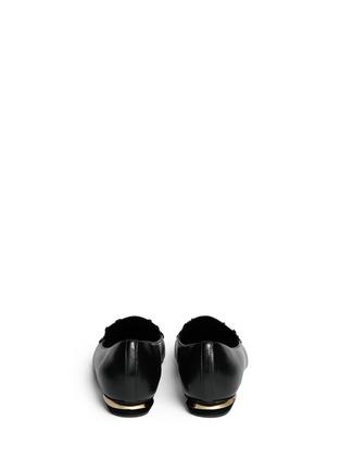 背面 - 点击放大 - NICHOLAS KIRKWOOD - 真皮尖头平底鞋