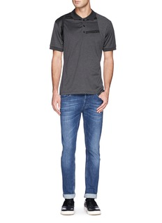 Alexander McQueen Harness polo shirt