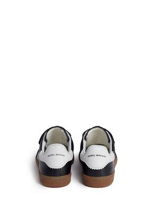 背面 - 点击放大 - ISABEL MARANT ÉTOILE - BETH锯齿饰边真皮运动鞋