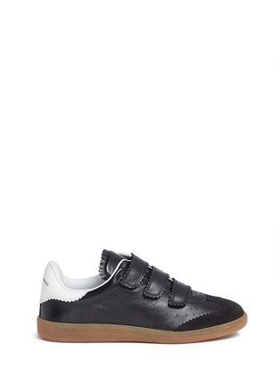 首图 - 点击放大 - ISABEL MARANT ÉTOILE - BETH锯齿饰边真皮运动鞋