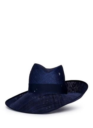 首图 - 点击放大 - PIERS ATKINSON - 仿水晶点缀倾斜翻折编织帽