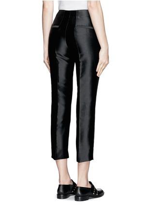 背面 - 点击放大 - MONCLER GAMME ROUGE - 混丝光泽直脚九分裤