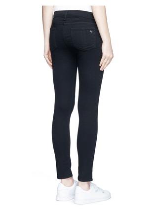 背面 - 点击放大 - RAG & BONE/JEAN - capri单色中腰修身长裤