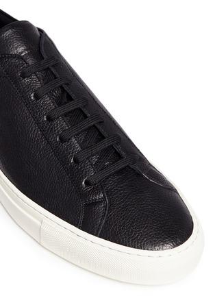 细节 - 点击放大 - COMMON PROJECTS - Original Achilles真皮系带运动鞋