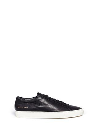 首图 - 点击放大 - COMMON PROJECTS - Original Achilles真皮系带运动鞋