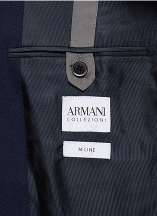 - ARMANI COLLEZIONI - 羊毛双排扣西服套装