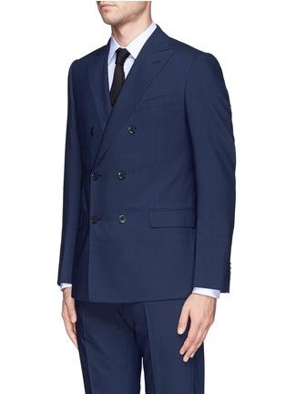 正面 -点击放大 - ARMANI COLLEZIONI - 羊毛双排扣西服套装