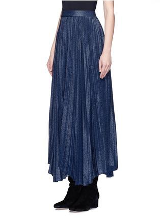 正面 - 点击放大 - ALICE + OLIVIA - KATZ金属感百褶混丝半身裙