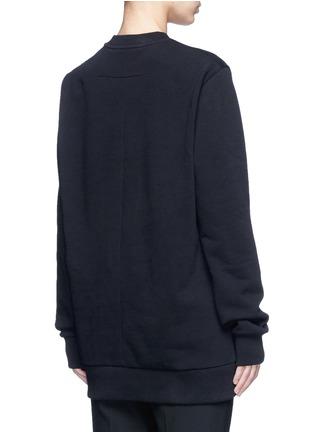 背面 - 点击放大 - GIVENCHY - 字母刺绣纯棉卫衣