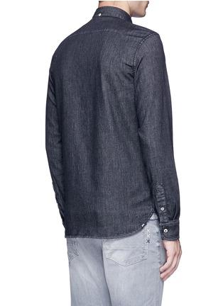 背面 - 点击放大 - DENHAM - RHYS棉质牛仔布衬衫