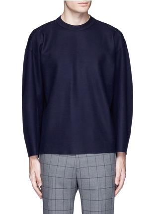 首图 - 点击放大 - TOMORROWLAND - 单色落肩袖羊毛上衣