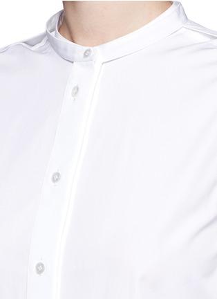 细节 - 点击放大 - PORTS 1961 - 可拆卸衣袖纯棉衬衫