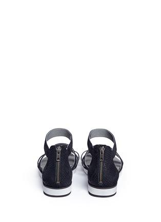 背面 - 点击放大 - UGG - ZINA鳄鱼压纹套趾平底凉鞋
