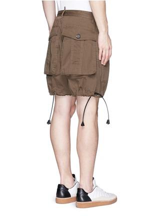 背面 - 点击放大 - DSQUARED2 - 抽绳大口袋短裤