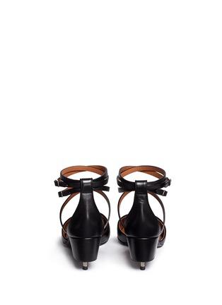 背面 - 点击放大 - GIVENCHY - 螺丝钉拼接鞋跟拼色中跟鞋