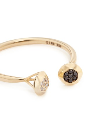 细节 - 点击放大 - LAMA HOURANI JEWELRY - 钻石镶嵌18k金戒指